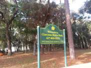 Clarcona Horse Park Campground in Apopka Florida Sign