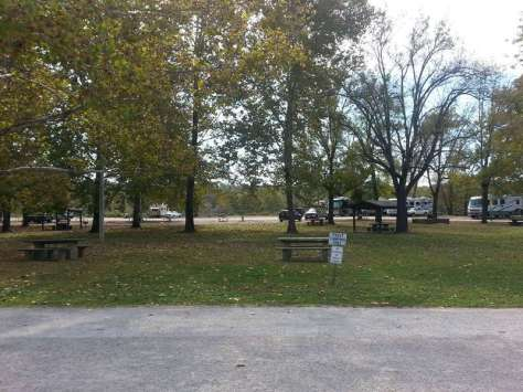Shadowrock Park & Campground in Forsyth Missouri Tent sites