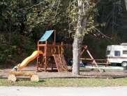 Camp LeConte Luxury Outdoor Resort in Gatlinburg Tennessee Playground