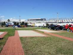 Geico Campground at Daytona Speedway Infield Concrete Site