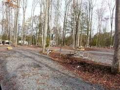 Smoky Mountain Premier RV Resort near Cosby Tennessee Pull Thru