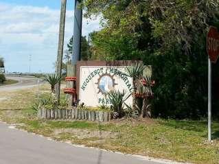 Huguenot Memorial Park east of Jacksonville Florida