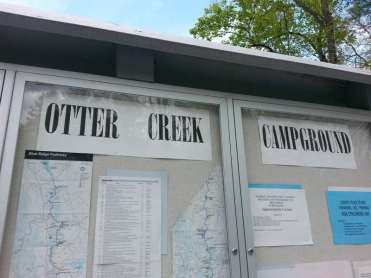 Otter Creek Campground near Monroe Virginia1