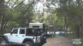 Fort Clinch State Park Amelia River Campground