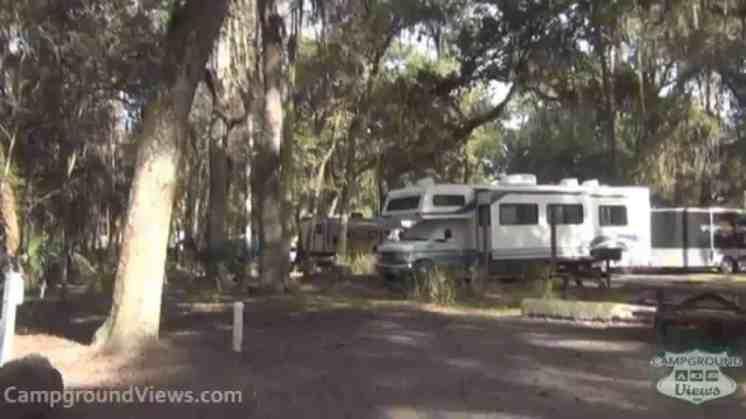 Hillsborough River State Park Campground