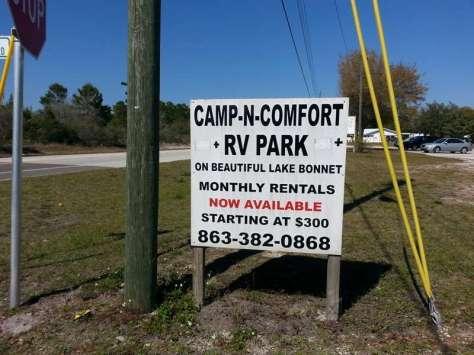 Camp N Comfort RV Park in Avon Park Florida1