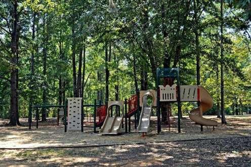 Chilatchee Creek Campground in Alberta Alabama Playground