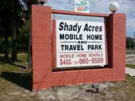 Shady Acres Mobile Home Park and Travel Park in Hudson Florida2