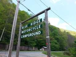 Blue Ridge Motorcycle Campground in Canton North Carolina8