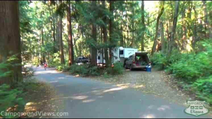 Kayak Point Regional County Park Campground