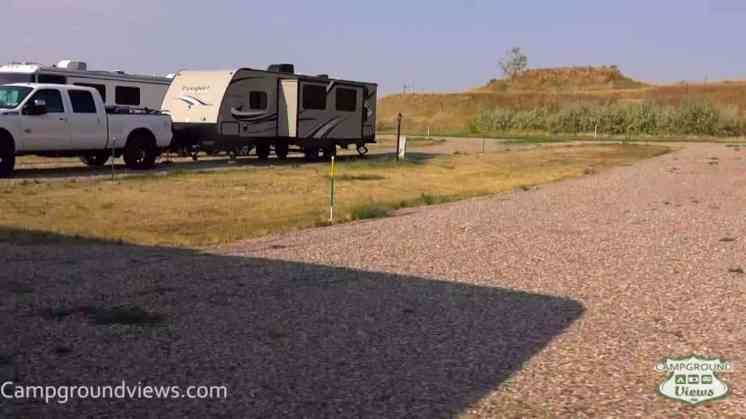 24 Express RV Campground Behind Mobil Station