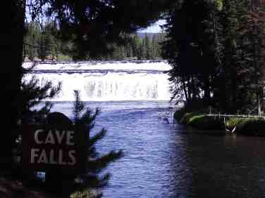 Cave Falls Campground