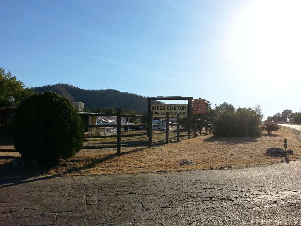 Kings Canyon Mobile Home and RV Park Dunlap, California | RV