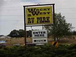 Wacky West Travel Park