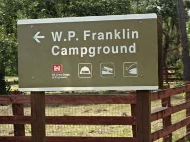 W.P. Franklin North COE Campground