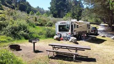 Plaskett Creek Campground