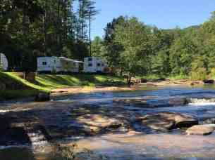 River Falls at the Gorge RV Resort and Campground