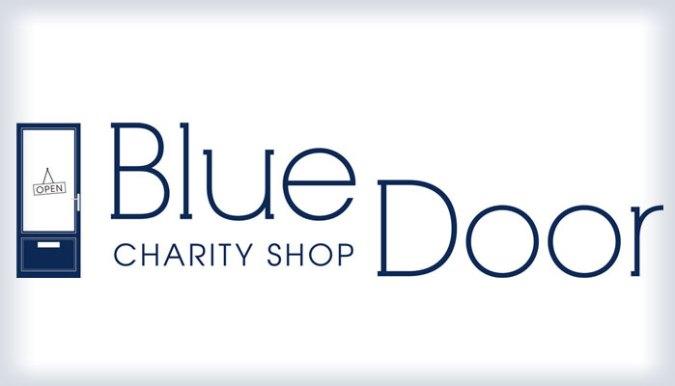 blue door logo charity shop aberdeen