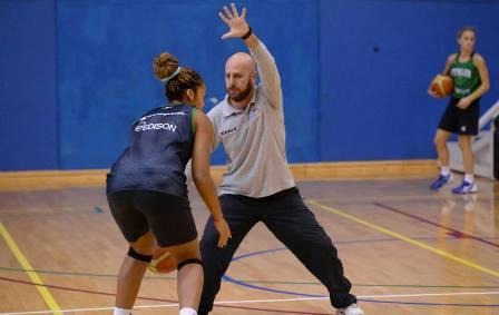 Il Coach del Flavio Basket alla Expert Napoli