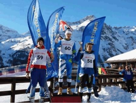 Zazzaro, 3° posto alla Coppa Tinelli in Valle d'Aosta