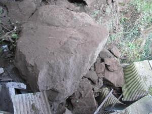 Capri, smottamento sulla statale per Anacapri