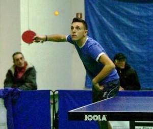 Stefano Banco, giovane talento del Tennis Tavolo Pozzuoli