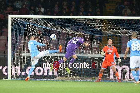 Il Napoli perde 1-0 contro la Fiorentina, arbitraggio discutibile