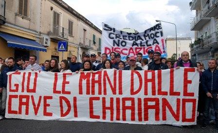 la Giunta di Napoli ribadisce il No alla discarica di Chiaiano