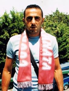 Onofrio Barone, qui alla sua presentazione nella stagione del 2000 a Pozzuoli