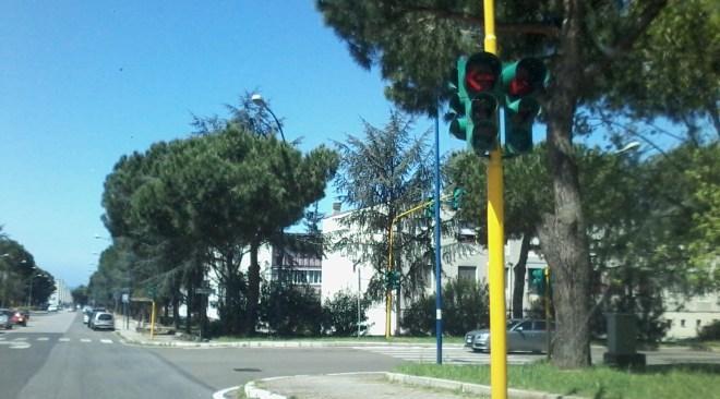 Monteruscello, ripartono i semafori