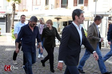 Angela Merkel sceglie ancora Pozzuoli prima di ripartire per Berlino
