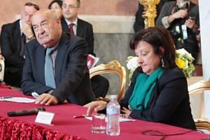 Marco Dezzi Bardeschi e Teresa Elena Cinquantaquattro