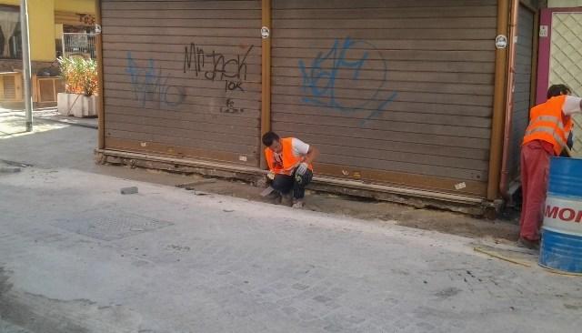 Lavori nel centro storico, il sindaco Figliolia risponde