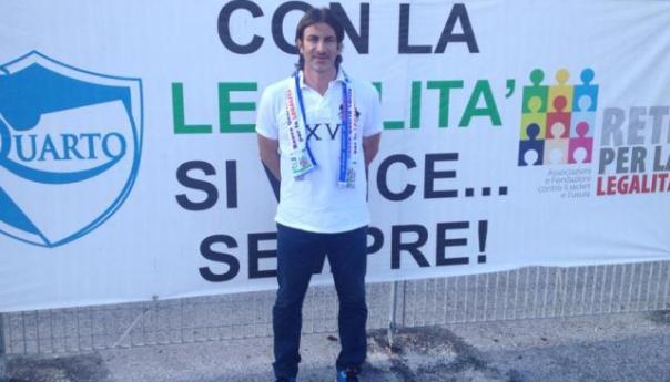 Calcio, Marco Mazziotti è il neo allenatore del Quarto