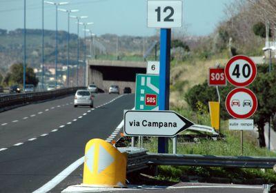 Via Campana, limitato il traffico per lavori