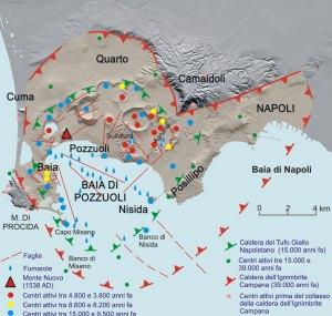 Campi Flegrei e Zona Rossa