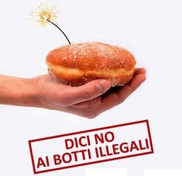 Botti di capodanno, una campagna per dire no ai fuochi illegali