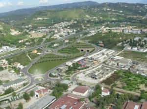 Pozzuoli collegamento Tangenziale-Porto - vista di via Campana
