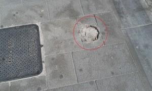Pozzuoli - marciapiede 1
