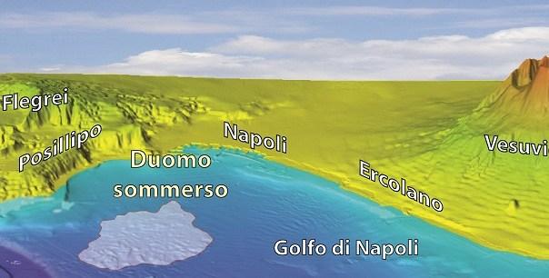 CNR, c'è un vulcano sottomarino a largo di Posillipo