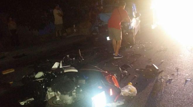Incidente a Cuma, motociclista perde la vita