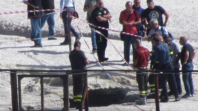 Solfatara, tre morti 2