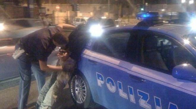 Stesa a San Giovanni la polizia arresta un pluripregiudicato