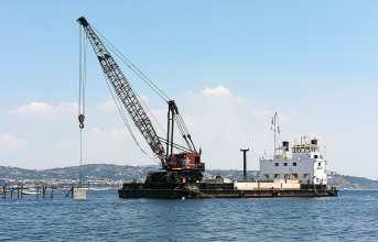 Bacoli, sospesi i lavori al pontile Lubrano ma è polemica tra Pd e FreeBacoli