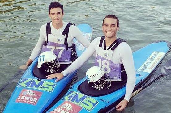 Bronzo per i bacolesi Lucci e Pugliese ai Mondiali under 21 di canoa polo