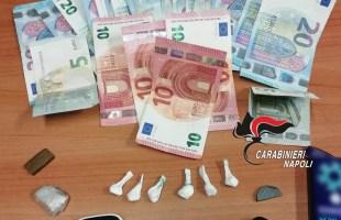Pozzuoli, carabiniere contuso da un 32enne perquisito e in possesso di droga