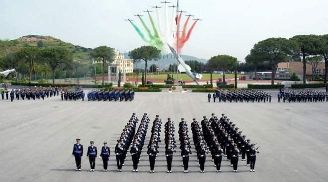 Inaugurato a Pozzuoli l'anno accademico di formazione dell'Aeronautica Militare