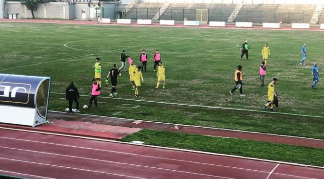 CALCIO/ Rione Terra poco incisivo, l'Ischia vince 1-0