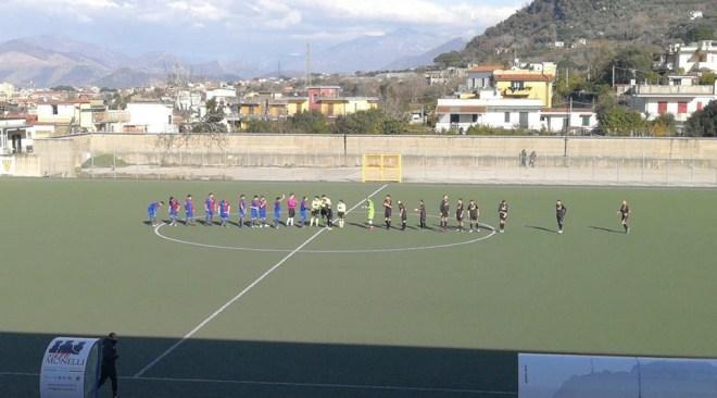CALCIO/ Quartograd bello solo un tempo, perde 3-1 a Sant'Antonio Abate