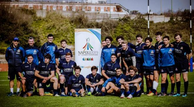 RUGBY/ A Bagnoli prove di Universiadi con la Naples International Rugby Seven